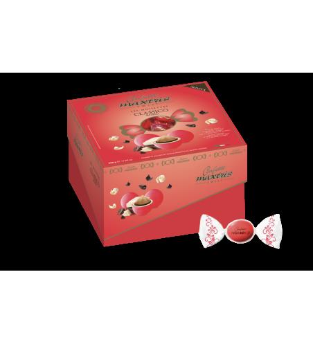Vassoio Cadeaux Twist Noisettes - Rosso