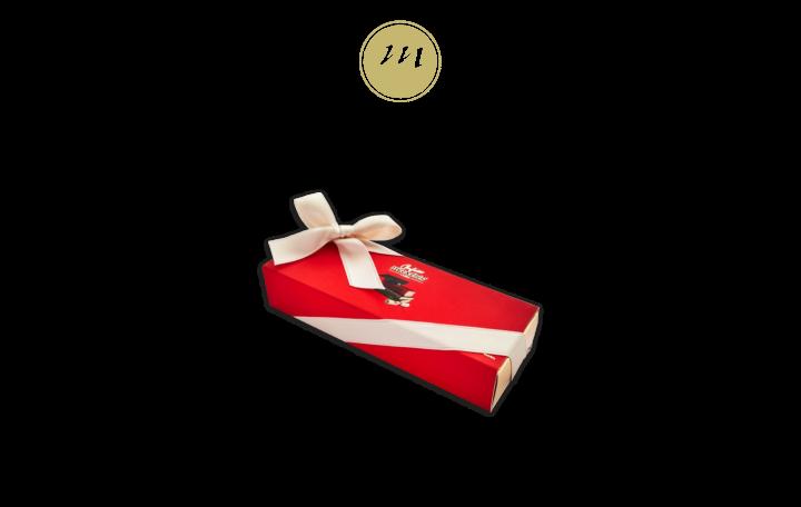 Cassettino Mini Rosso –Laurea